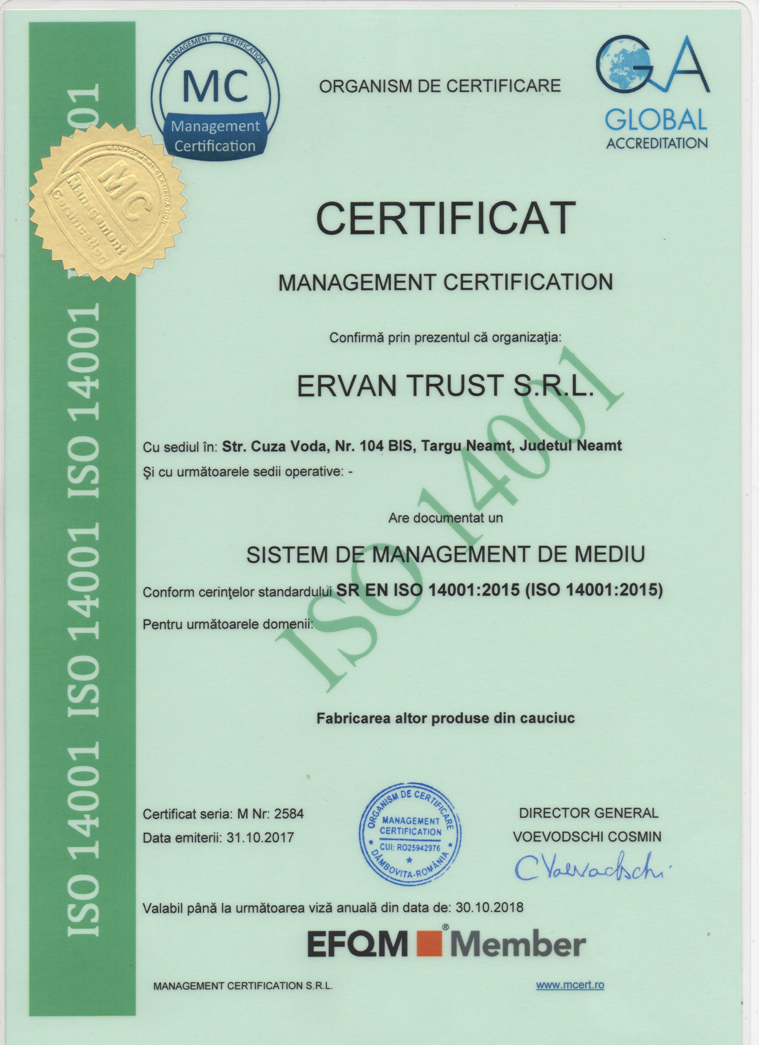 Sistem Managment Mediu